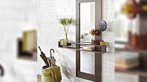Decorative Floating Shelves Diy Wall Mirror With A Floating Shelf Youtube