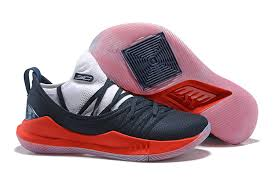 Low white Red Black 5 Shoes Cut Curry Basketball