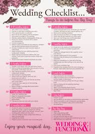 what you need for a wedding checklist wedding checklist things to do before your wedding day 2018