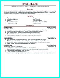 Data Entry Job Description For Resume Template Data Entry Job Description Template Your Resume Is The 59