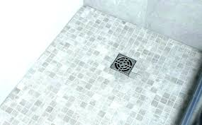 pebble tile shower floor problems tiles cleaning full size of installation