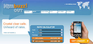 nimbuzzout rate calculator