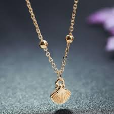 2019 new exquisite shell pendant women custom necklace for girls gold chain classic fashion wedding long necklace jewelry from copy04 33 04 dhgate com
