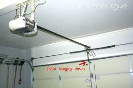 garage door opener and installation garage door opener installation how to install garage door opener panel