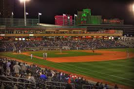 Reno Aces Ballpark In The Shadows Of Downtown Reno