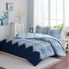 blue primary designer bedding for teen boys