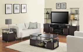 Living Room Coffee Table Sets Amazoncom Altra Carson Coffee Table Cherry Black Kitchen Dining