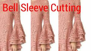 Ball Sleeves Design Bell Sleeve Cutting With Designer Pattern