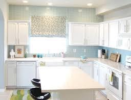 Kitchen  Lovely Coastal Kitchen Decor With White Glass Backsplash Coastal Kitchen Backsplash Ideas