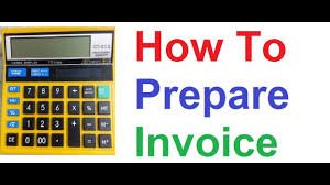 Prepare Invoice How To Prepare Sales Invoice With Gst Tax And Discount On Non