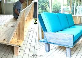wood outdoor sectional couch step 3 make a sofa from plywood love the o30