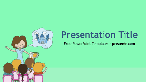 Ppt Background School Free Teacher Powerpoint Template Prezentr Powerpoint Templates