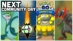 Next Community Days in Pokemon GO | We are running out of Pokemon... -  YouTube