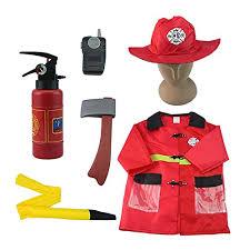 Iplay Sun Hat Size Chart Iplay Ilearn Kids Fire Chief Costume Halloween Fireman