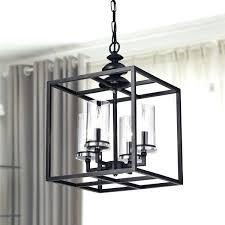 black antique chandelier la 4 light antique black lantern chandelier with clear glass cylinders antique black