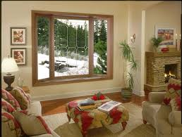 Interior:Three Panels Bay Windows Modern Design With Cozy Seating Idea Bay  Window Seating Rolled
