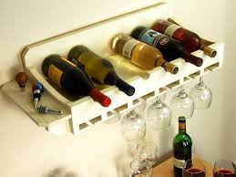 unique wine rack ideas. Wine Rack For Bottles And Glasses In Unique Ideas