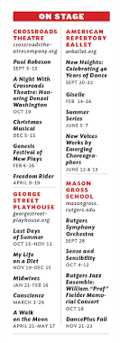 George Street Playhouse Seating Chart The Stunning Debut Of New Brunswick Performing Arts Center