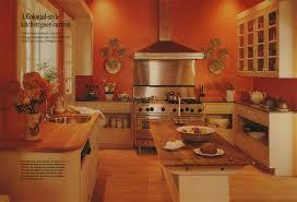 Orange Kitchens Top Burnt Orange Kitchen Colors Serenity In Design Colorful