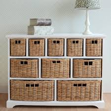 Bedroom Storage Units With Baskets