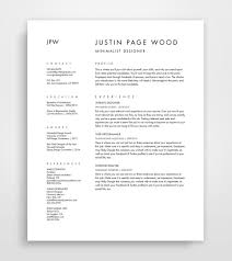 Resume And Cover Letter Cv Template Curriculum Vitae Etsy