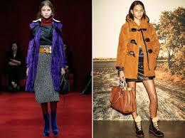Модные тренды в одежде показы осень зима фото  miu miu coach 1941 осень зима 2016 2017