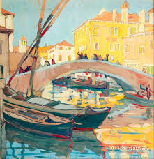 jane peterson paintings for venice late afternoon