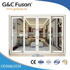 accractive house and commercial aluminum sliding door