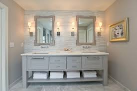 gray double sink bathroom vanity. white and gray master bathrooms {modern double sink bathroom vanities|60\ vanity