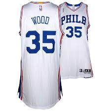 With Star Philadelphia The Jersey Size White 76ers 35 Patch Season 2015-2016 From 4 Xl - Fanatics Christian 2 Authentic Player-issued Wood Nba