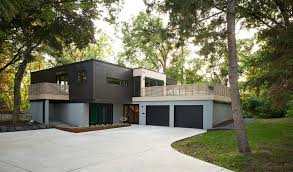 dark brown garage doorsGarage exterior designs exterior modern with wood slat exterior