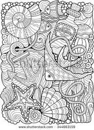 Small Picture Free Printable Coloring Pages for Summer Anchor Summer DIY
