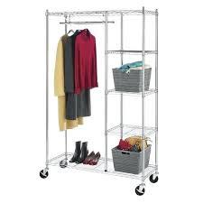 whitmor chrome shelf closet