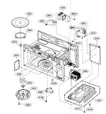 Scintillating microwave parts diagram photos best image wire kenmore microwave hood bo parts model 72180513600 sears