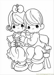 Small Picture Precious Moments Coloring Pages Free Coloring Coloring Pages