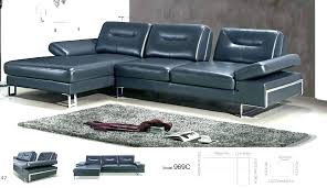 navy blue leather sectional couch sofa couches
