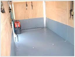 stunning enclosed trailer flooring ideas options snowmobile floor diamond plate