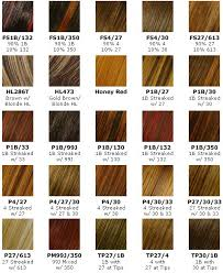 Hair Highlight Colors Chart Find Your Perfect Hair Style