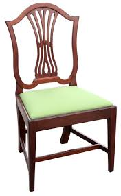 furniture examples. A Federal Carved Mahogany U201cModified Shield Backu201d Or Urn Back Side Chair Annapolis Baltimore Nearly Identical Examples Can Be Seen In The Collections Of Furniture