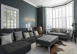 Victorian Terrace Living Room A Chic Grey And White Kitchen And Living Space