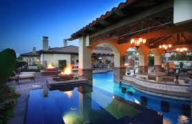 Backyard Designs With Pool And Outdoor Kitchen Extraordinary How To Talk Pool Design