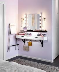 The perfect dressing table for ladies with limited space.