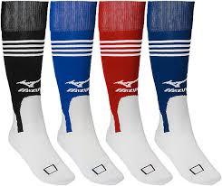 Mizuno Brand Performance Softball Baseball Knee High Stirrup Socks In 4 Team Colors