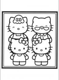 Hello Kitty Kleurplaten Topkleurplaatnl