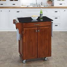 Granite Kitchen Cart Home Styles Create A Cart Warm Oak Kitchen Cart With Salt And