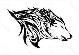 In order to make them look less daunting, ask your kid to use colors that you would not normally associate with did your kid enjoy coloring this particular set of wolf coloring pictures? Best Tribal Wolf Drawings Easy Vector Cdr Free Vector Art Images Graphics Clipart