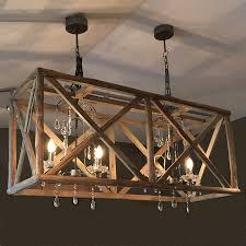 lighting fantastic wooden chandeliers for home accessories ideas 26120 c 78 wine barrel stave chandelier