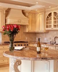kitchen peninsula with seating on both sides high back adjule bar stools white island light black