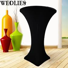 Round Plastic Table Covers With Elastic Popular Stretch Table Cloths Buy Cheap Stretch Table Cloths Lots