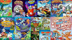 TOM & JERRY ALL MOVIE LIST IN HINDI - YouTube
